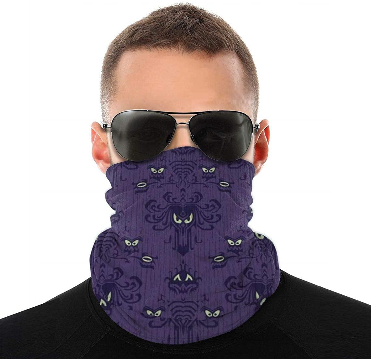 Neck Gaiter Bandana Face Mask Multifunctional Headwear for Men Women