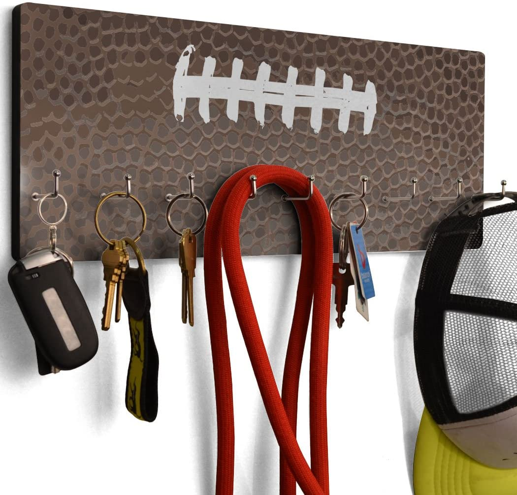 ChalkTalkSPORTS Football Texture Hook Board Football | Multiple Colors