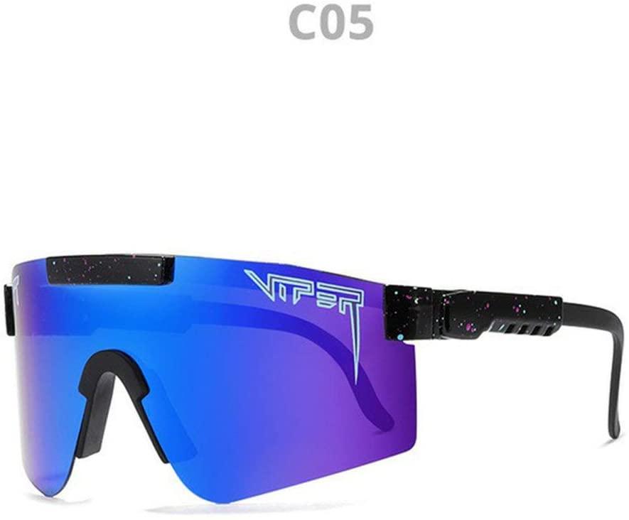 LEKA Original Pit Viper Polarized Bike Sunglasses for Cycling Men Women Sports Fishing Golf Baseball Running Glasses C5