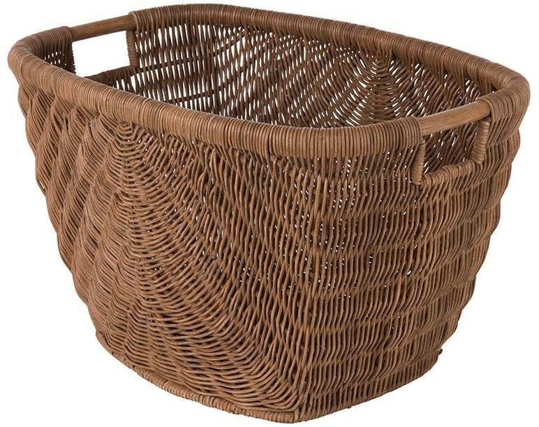 Kouboo Fan Decorative Storage Basket, One Size, Brown