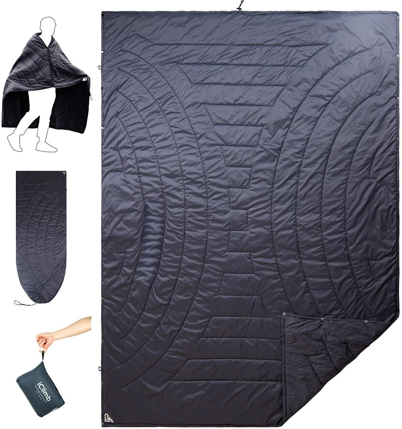 iClimb 3M Thinsulate Insulation Warm Camping Blanket Ultralight Compact