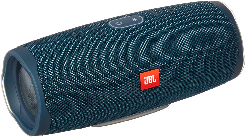 JBL Charge 4 Portable Waterproof Wireless Bluetooth Speaker - Blue (Renewed)