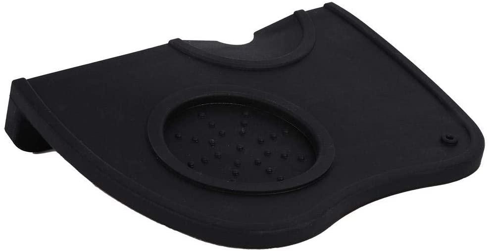 Wytino Tamping Holder Mat, Anti-Slip Espresso Coffee Tamper Tamping Holder Silicone Mat Pad Coffee Color/Black Color (Black)
