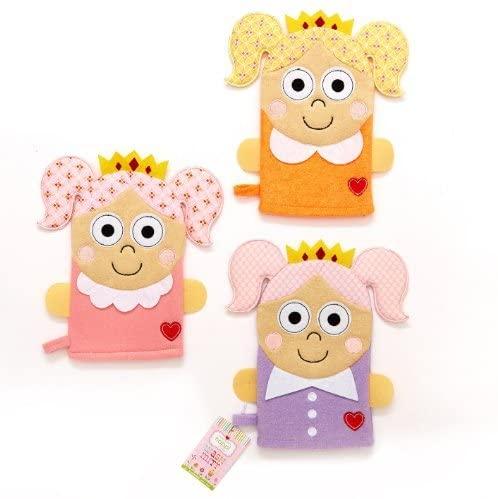 Twos Company Orange Happi Princess Wash Mitt