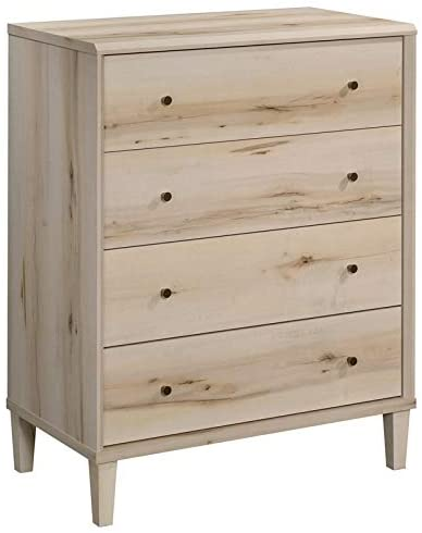 Sauder Willow Place Engineered Wood 4-Drawer Bedroom Chest in Pacific Maple