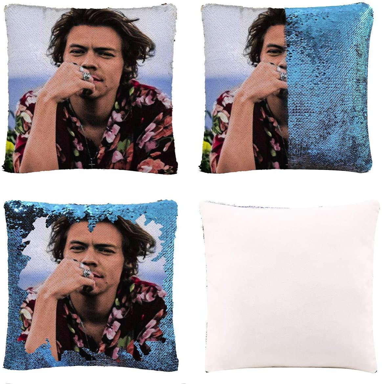 F.P.L DIY Magic Reversible Sequin Mermaid Case Throw Pillow Cover Cushion Cover Decorative Pillowcase