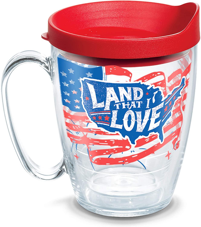 Tervis Land That I Love Insulated Tumbler, 16oz - Mug, Clear - Tritan