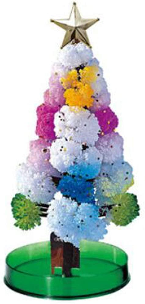 WOSHA Magic Growing Crystal Christmas Tree Paper Tree Flowering Christmas Tree - DIY Crystal Kit - Halloween Decor Tree/Xmas Ornaments -2 Set Magic Tree
