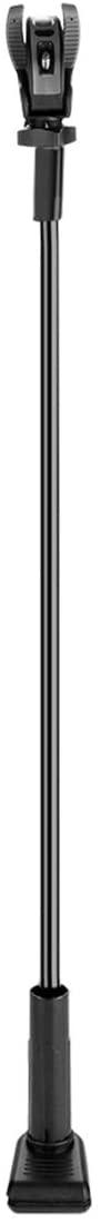 DERCLIVE Pet 360 Degree Adjustable Hair Dryer Shelf (Aluminum Tube Black)