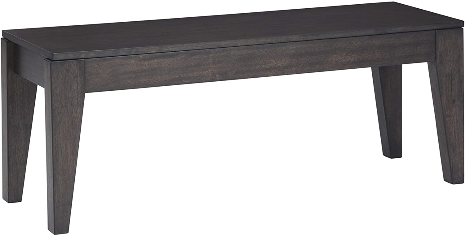 Signature Design by Ashley Trishcott Dining Room Storage Bench, Dark Brown