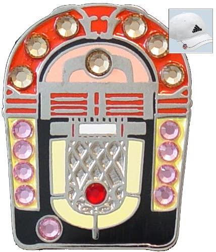 Bella Crystal Golf Ball Marker & Hat Clip - Jukebox