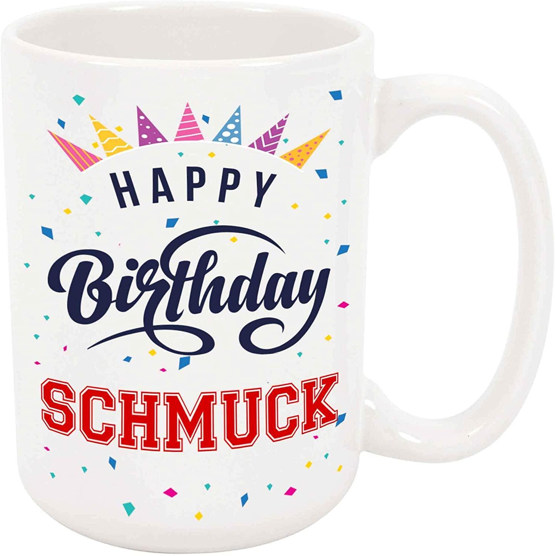 Happy Birthday Schmuck Coffee Mug