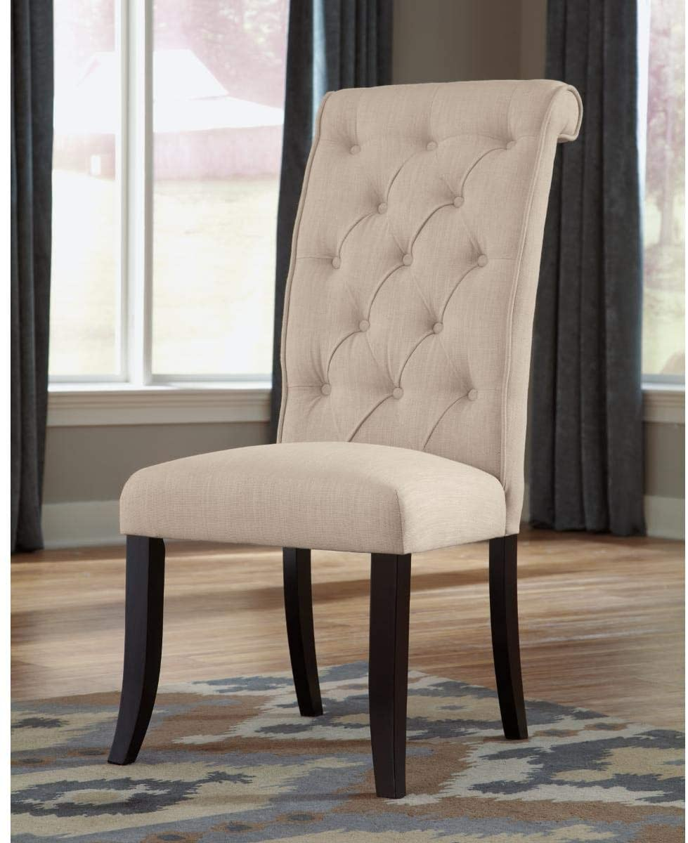 Signature Design by Ashley Tripton Dining Room Chair, Tan
