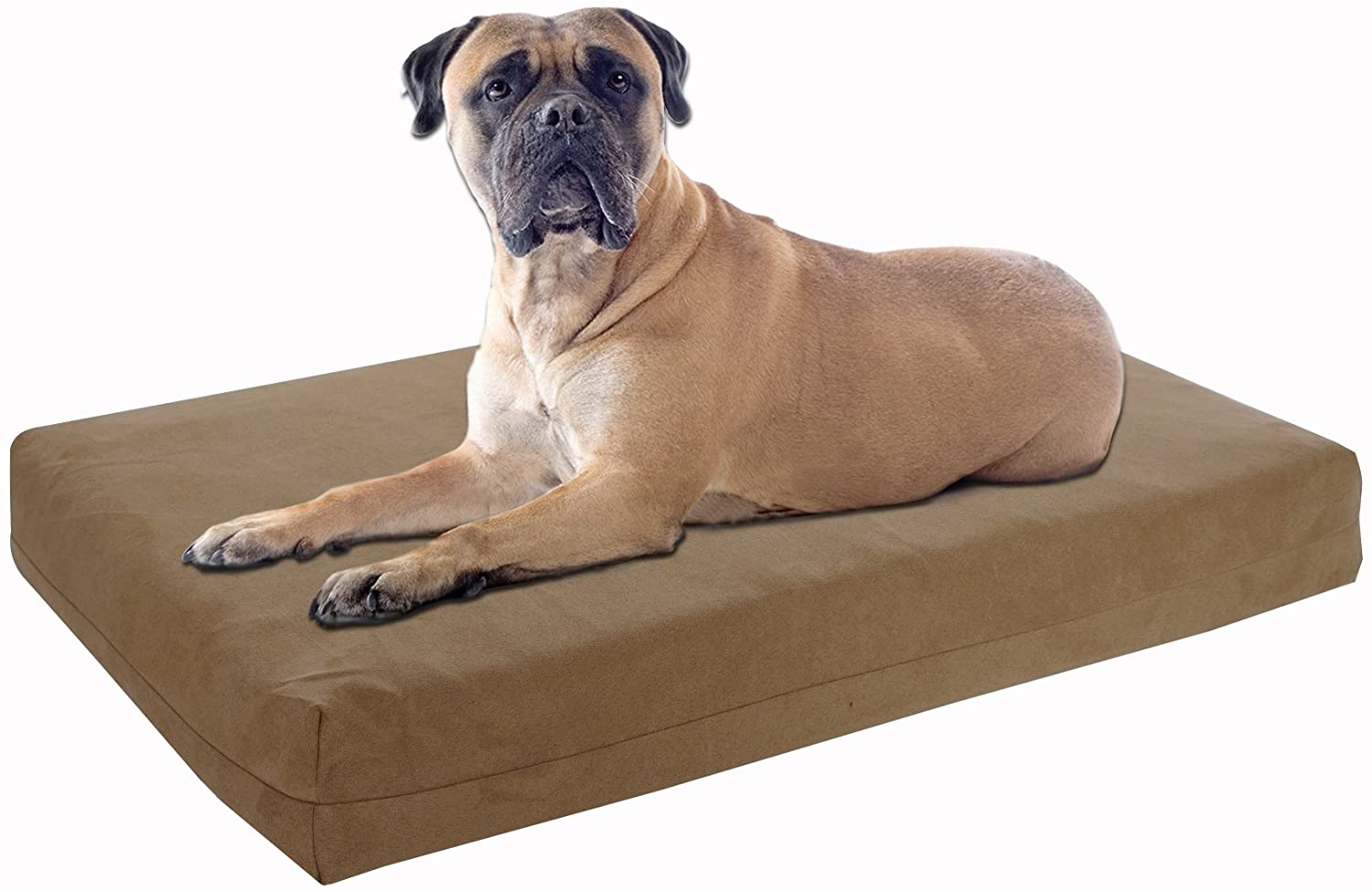 Pet Support Systems Orthopedic Memory Foam Dog Beds - Eco Friendly, Hypoallergenic and Made in The USA, Supreme Luxury Comfort and Care for Dogs with Removable and Washable Cover