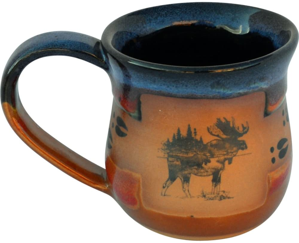 Moosetracks 14 Oz. Mug in Azulscape glaze