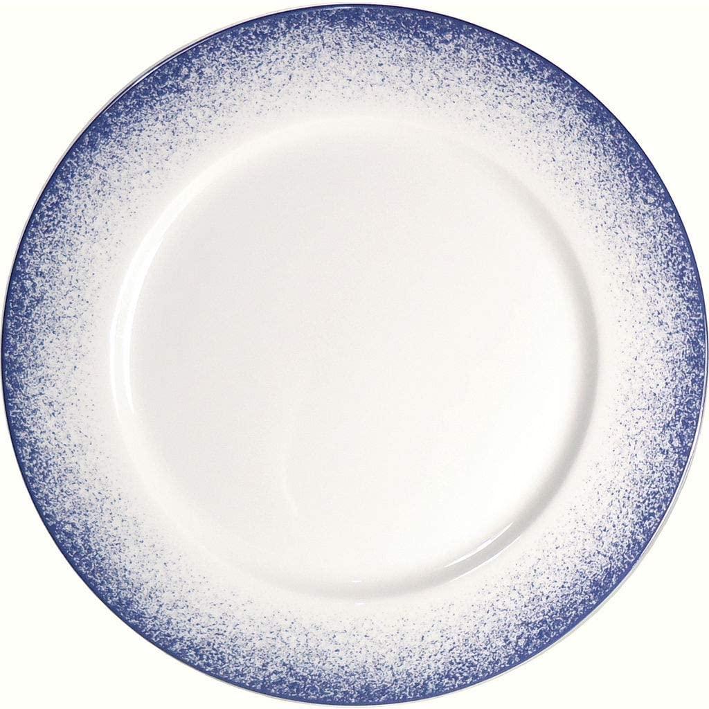 Royal Limoges Blue Fire Dinner Plate