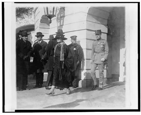 Infinite Photographs Photo: Prince,Princess Rebesco Leaving White House,Visits,Romania,Washington DC,1922