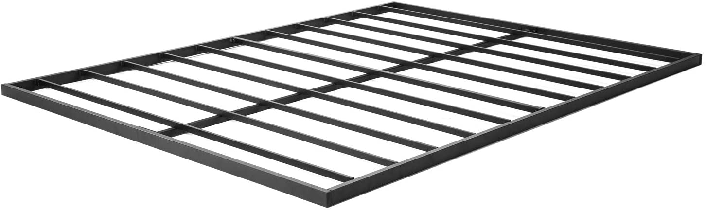 zizin King Metal 1.6 Inch Bunkie Board Quick Lock Stable Steel Bed Slat Replacement/Noise-Free/Easy Assembly