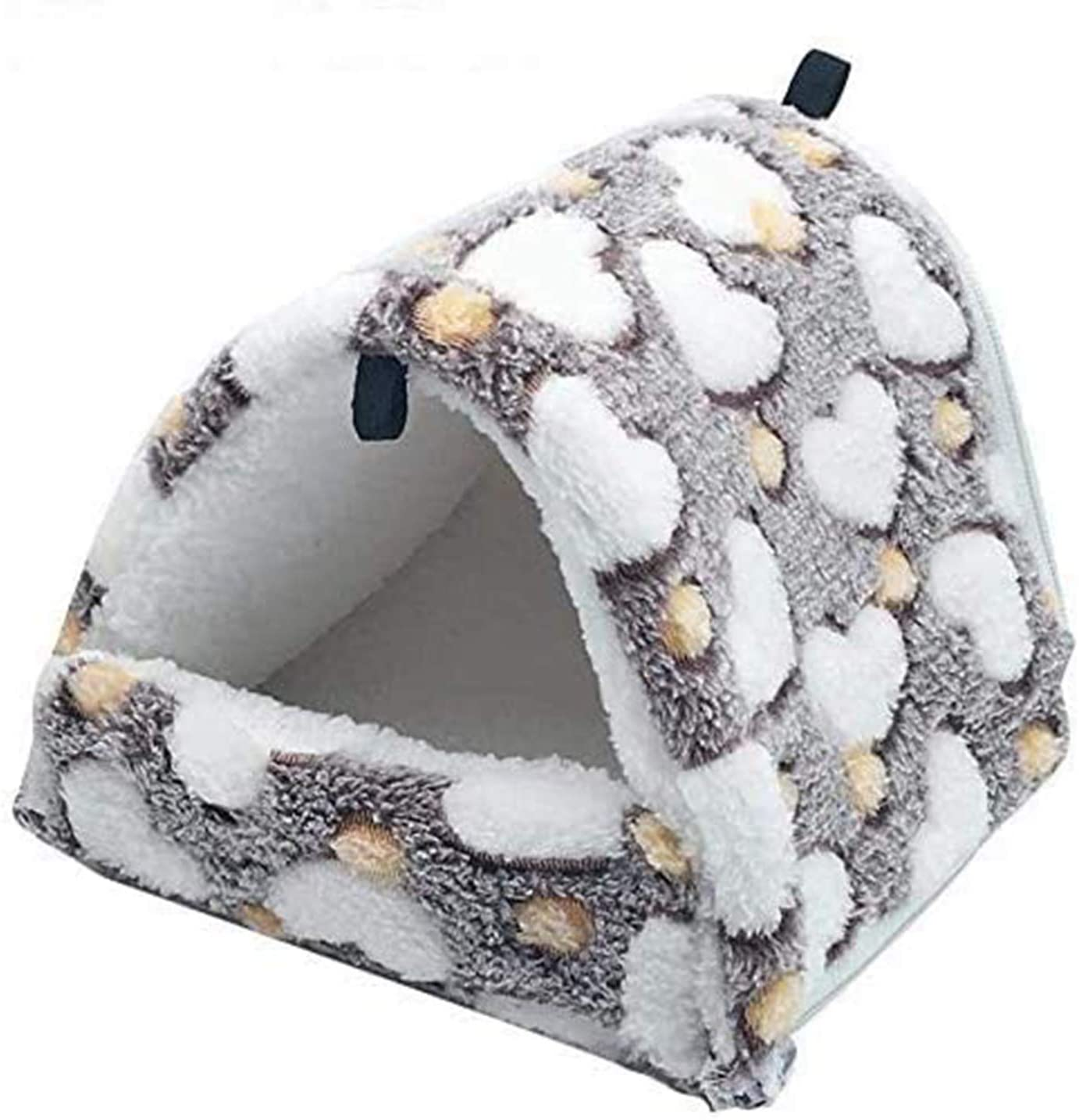Fluffy Hamster Hammocks Pet Rat House Shed Guinea Pig Cage Bedding Washable Small Animal Pet Bed for Bird Squirrel Hedgehog Chinchilla Nest Tent