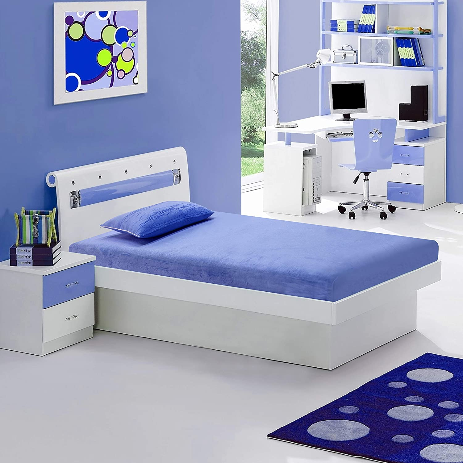 Irvine Home Collection M7Blue Kids 6