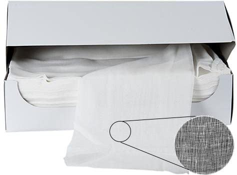 RagLady Certified Cheesecloth - Grade 40-70 Continuous Yards in a Box - Case of 10 Boxes