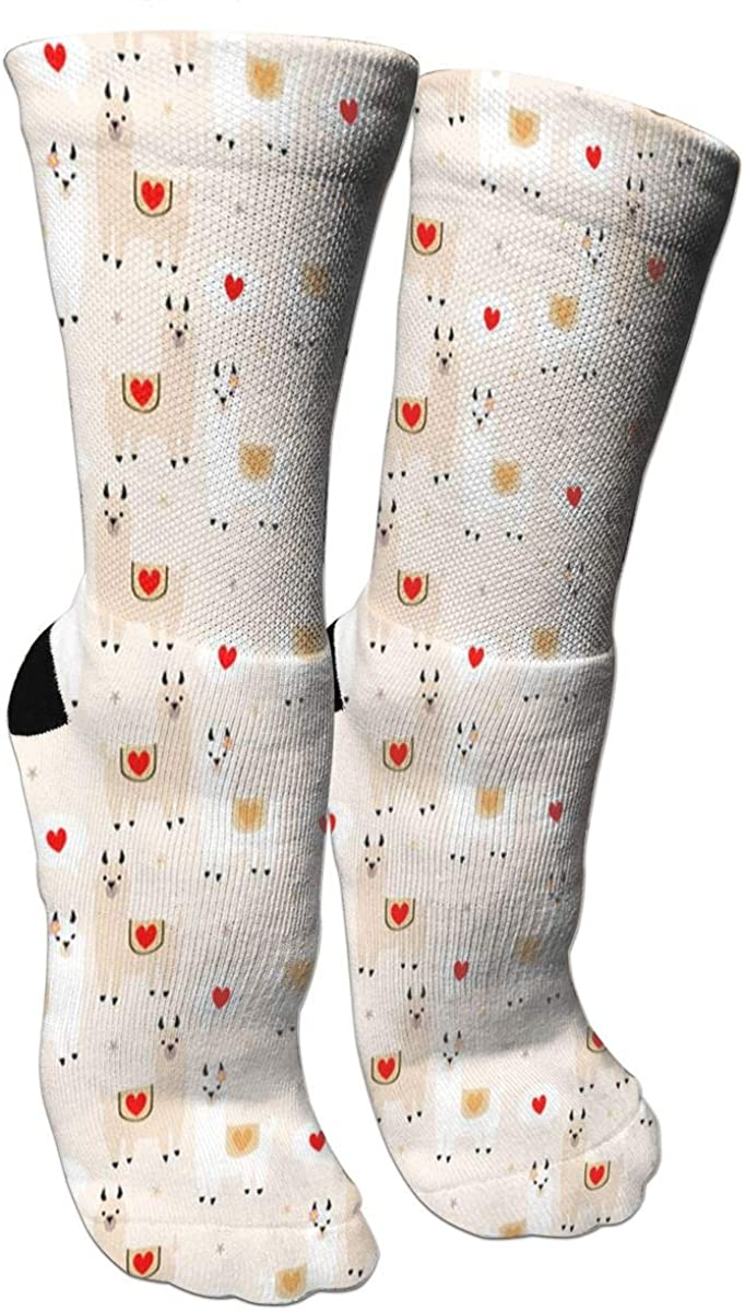 Women's Funny Thin Ankle Breathable Cotton Dress Crew Athletic Socks