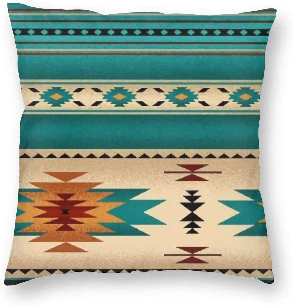 NewBHomeHome Indiana Western Southwest Mesas Decorative Throw Pillow Cushion Cover Pillow Case Square Pillowcase