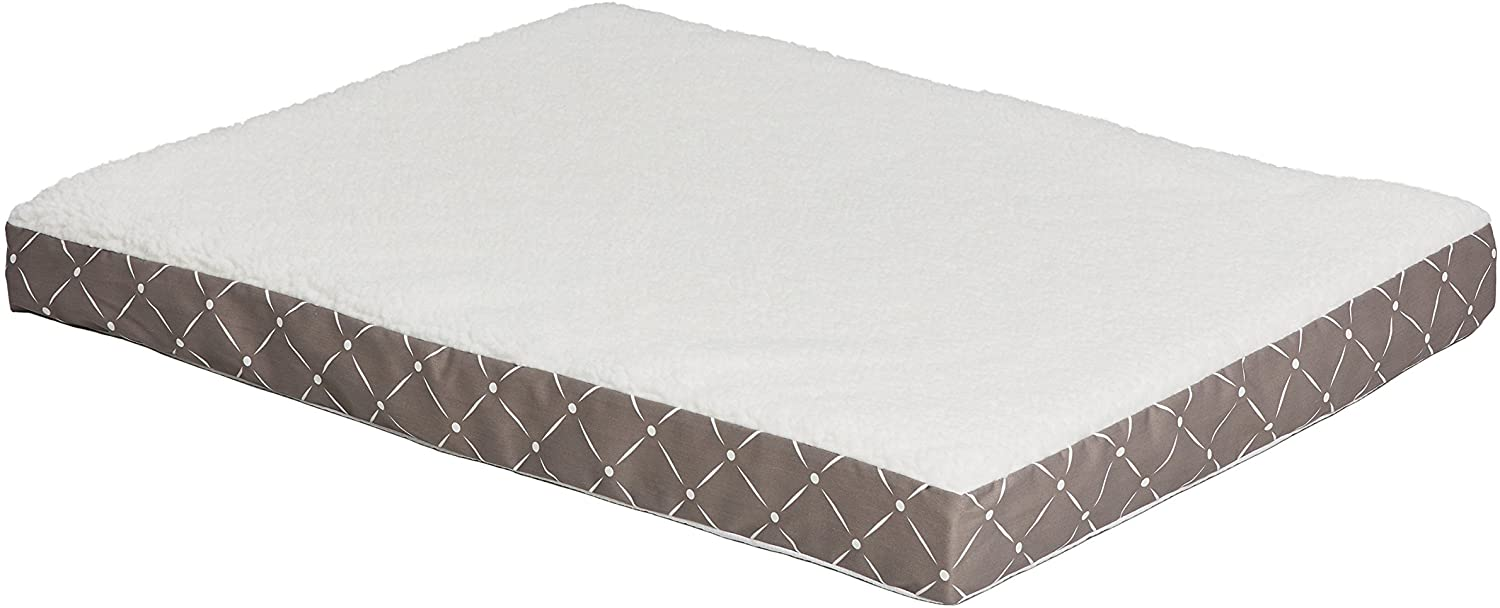 MidWest Donovan Pet Beds, Double-Thick Orthopedic Dog Bed for Large Breed & Older Dogs