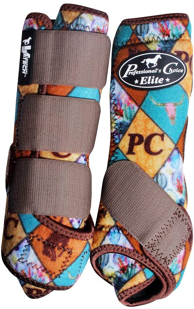Professional Choice Sml Horse Sports Medicine Boots Ventech Elite Pc Diamond