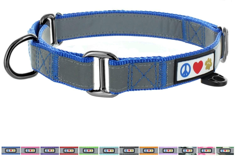 Pawtitas Martingale Dog Collar Puppy Collar Reflective Dog Collar Training Dog Collar Behavioral Dog Collar