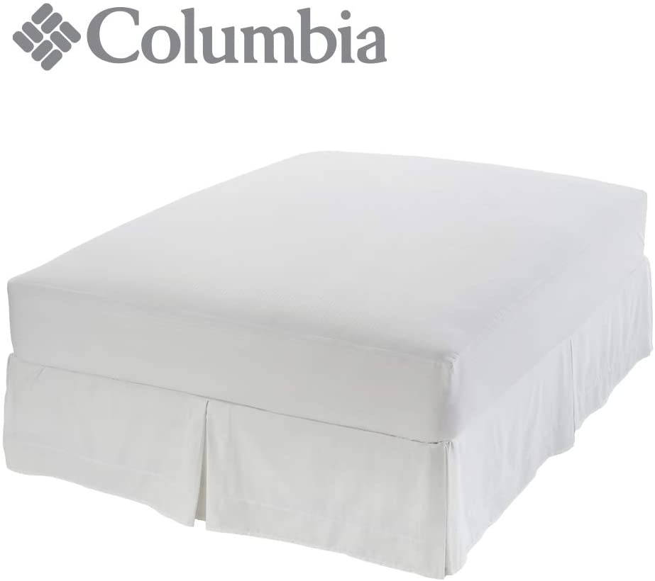 """Columbia Lyocell Ultimate Mattress Protector – Water & Liquid Proof Barrier – Quiet & Breathable Fabric Containing Naturally Cool Lyocell Botanic Fibers – Fits Up to 22"""" Depth - Twin XL"""