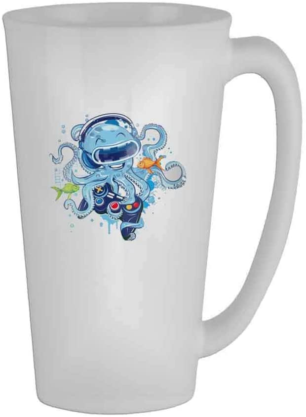 Octopus Music Mug 17 Oz 🏆 Womens Idea Ceramic Gifts Tea Cup/Humor/Retirement Coffee Cup Office Mug Gift/Perfect Gift for Family and Friends🎁