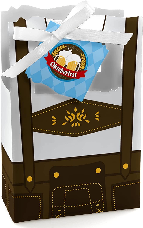 Oktoberfest - German Beer Festival Favor Boxes - Set of 12