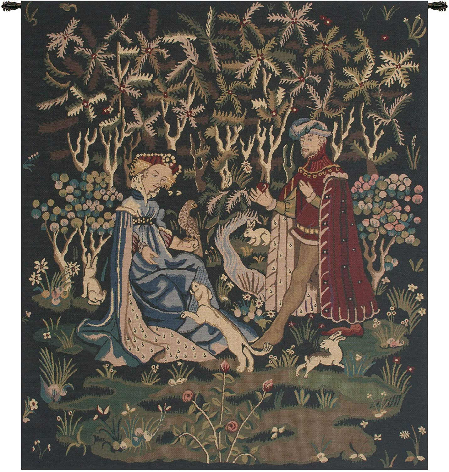 Charlotte Home Furnishing Inc. Belgium Tapestry - Small, 33.00 in. x 39.00 in. | Gift of The Heart
