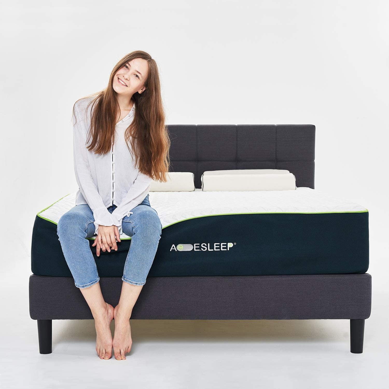 Acesleep 12 Inch Cool Gel Memory Foam Mattress Full Size & Bamboo Charcoal Foam, Medium Soft, Adjustable Bed Frame Compatible