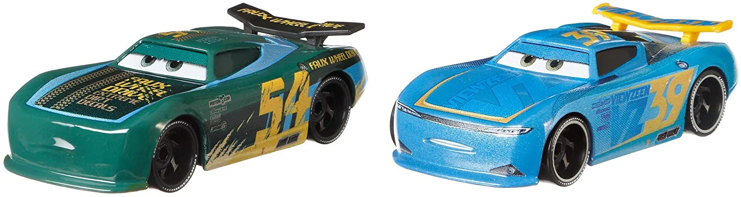 Disney and Pixar Cars Herb Curbler & Michael Rotor 2-Pack Toy Racers