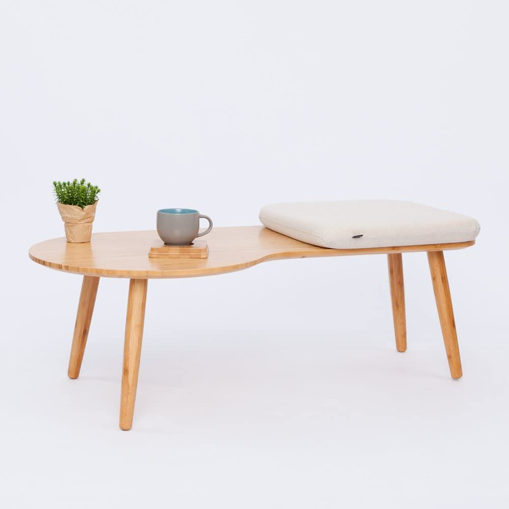 ZEN'S BAMBOO Coffee Table Living Room Sofa Side Table Home Furniture