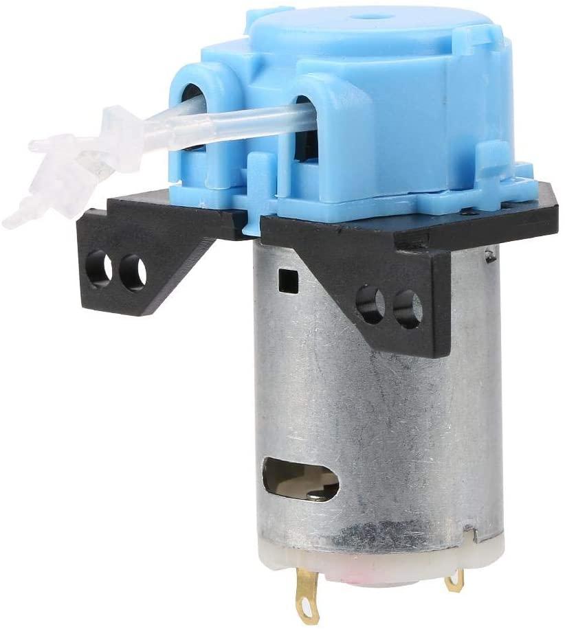 Riuty Peristaltic Pump,Dosing Pump DIY Peristaltic Tube Head for Aquarium Lab Chemical Analysis DC12V/24V