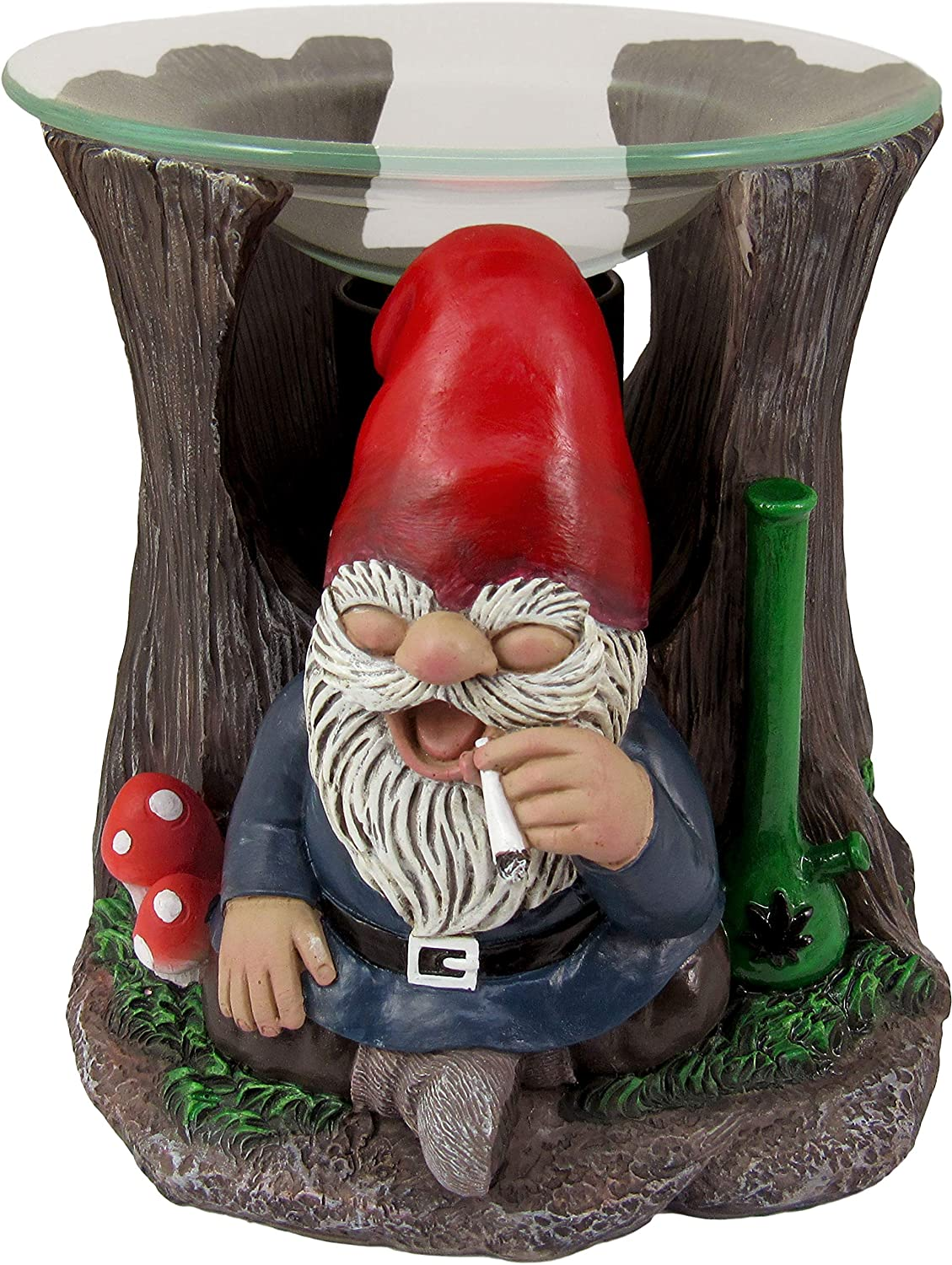 World of Wonders High on The Scent Gnaughty Gnomes Series | Essential Oil Holder | Room Decoration | Oil Burners and Essential Oils | Room Decor | Kitchen Decor | Electric Wax Warmer