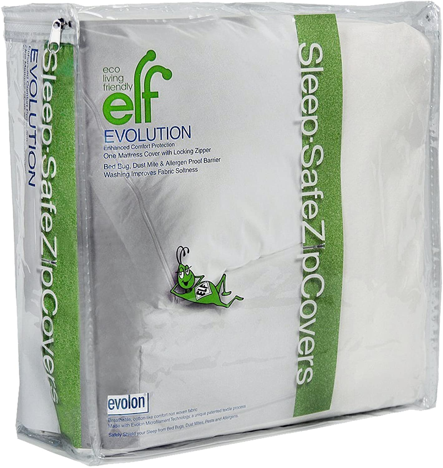 Eco Living Friendly Evolon Allergy Mattress Protector | 15