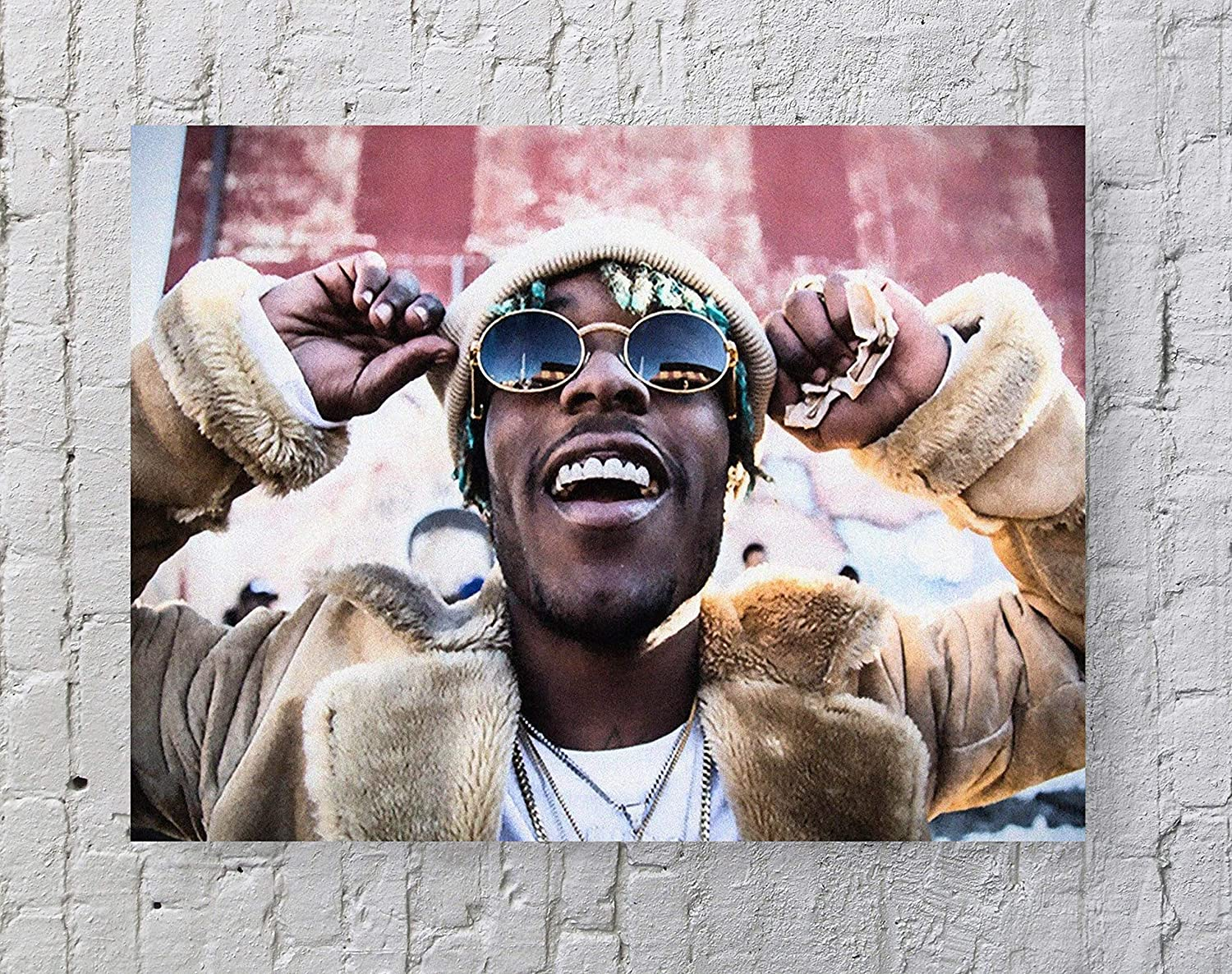 Lil Uzi Vert Poster Standard Size   18-Inches by 24-Inches   Lil Uzi Vert Rapper Wall Poster Print