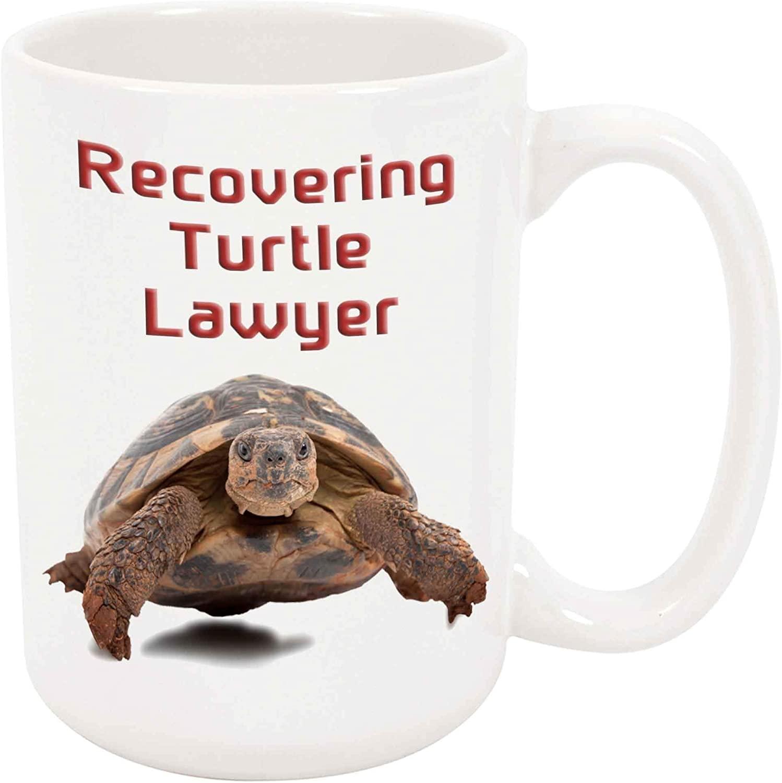 Recovering Turtle Lawyer Coffee Mug