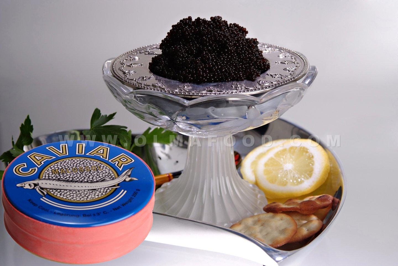 OLMA Black Caviar White Sturgeon 8.8 oz (250g) Metal Tin