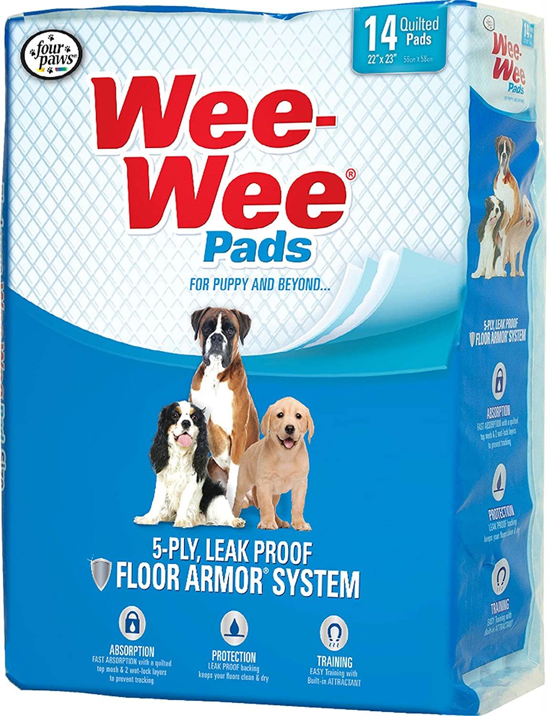 Four Paws Wee Wee Housebreaking Pads 150pk