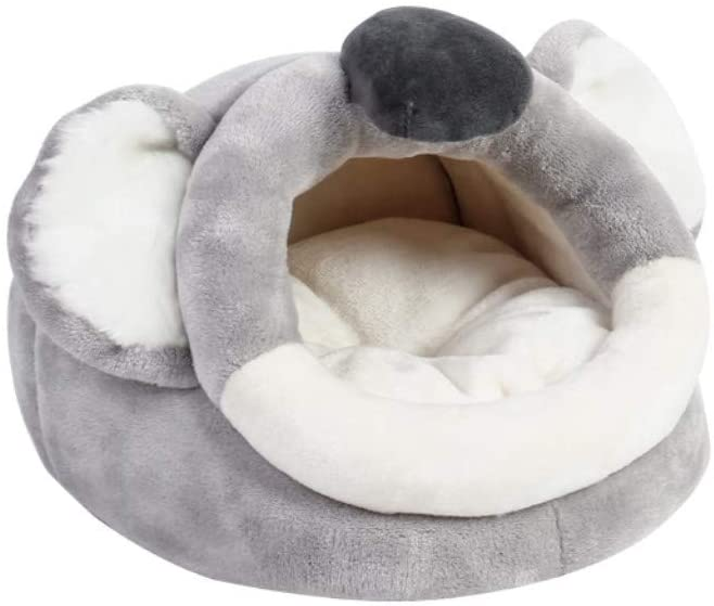 Warm Small Pet Animals Bed/Cube/House Habitat for Guinea Pig,Sugar Glider,Hamster,Gigi,Hedgehog,Chinchillas,Snakes, Spiders, Lizards,etc. (S)