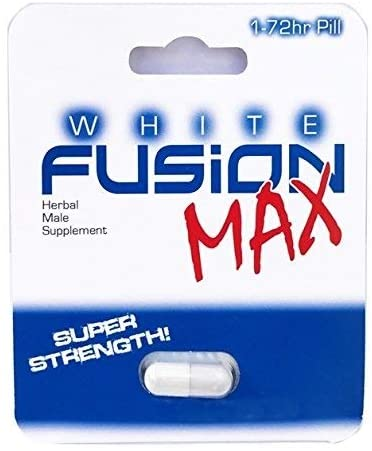 Whitefusion Male Performance Supplement and Testosterone Booster - New! (12 Capsules)