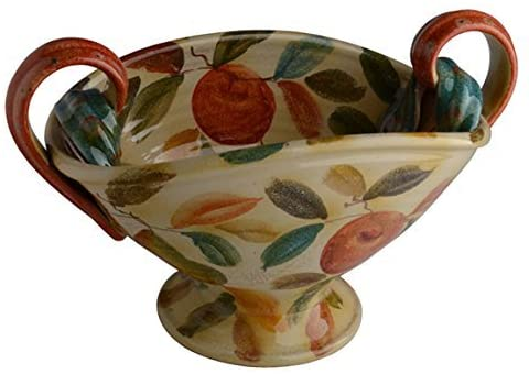 Italian Dinnerware - Centerpiece - Handmade in Italy from our Frutta Laccata Collection