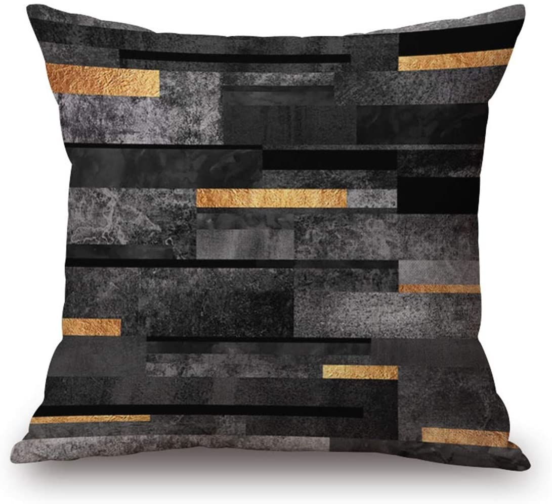 JES&MEDIS Double-Side Printed Cushion Cover Home Decorative Square Throw Pillow Cover Cushion Case for Bed Sofa Car 45 X 45cm / 18″ X 18″ (8#)
