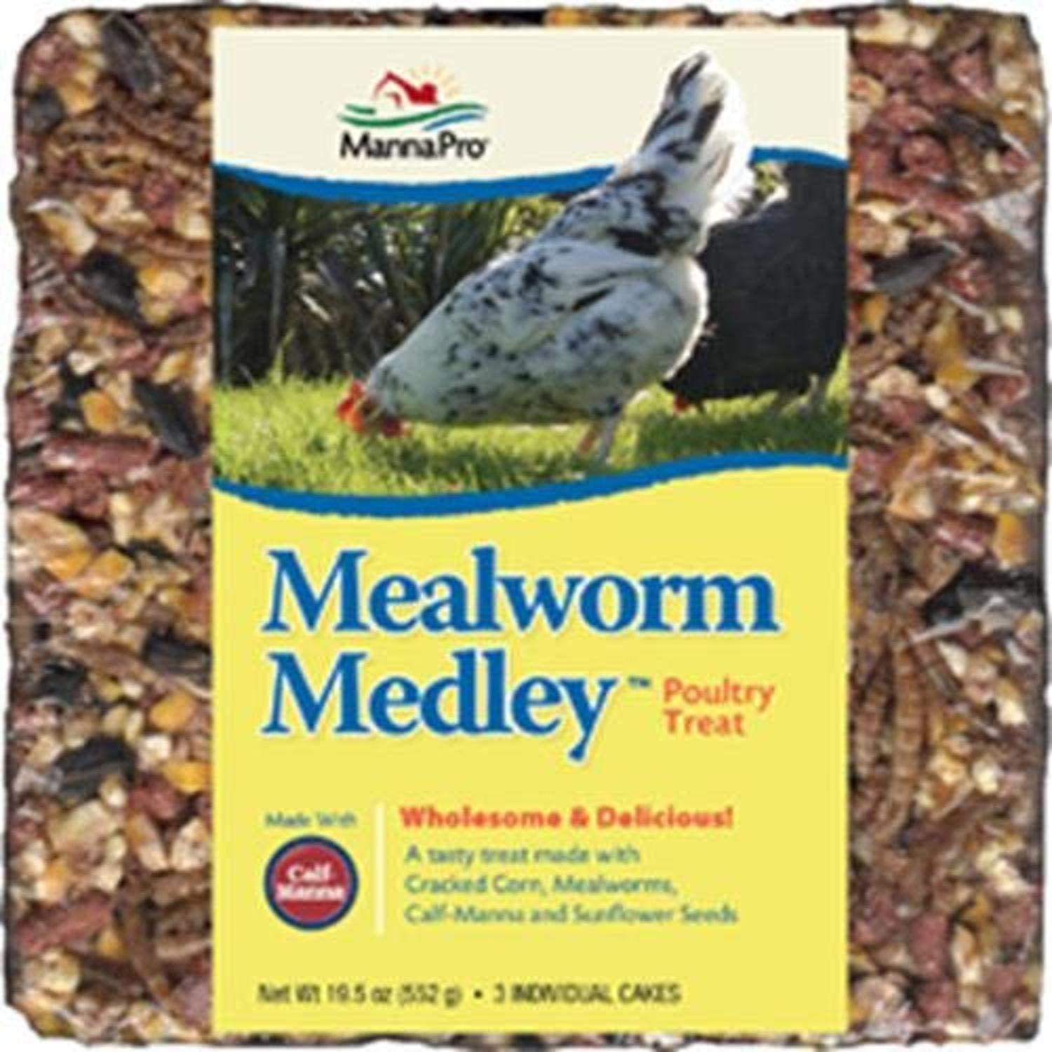 Mealworm medley cake | Rich in nutrients | 19.5 OZ