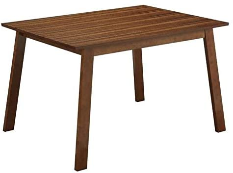 BOWERY HILL Dining Table in Rich Walnut